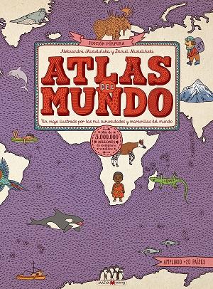 Atlas del mundo (edición púrpura)