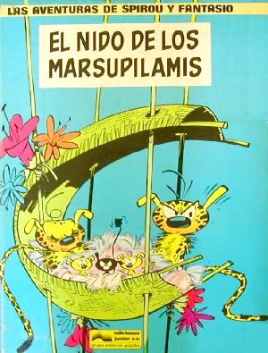 El nido de los marsupilamis