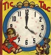Tic tac: las horas del día de una niña