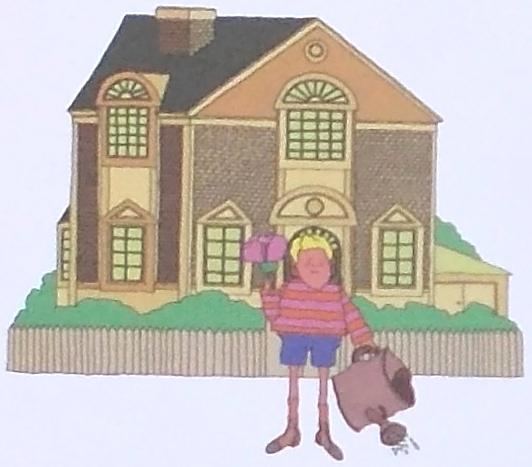 La casa que creció