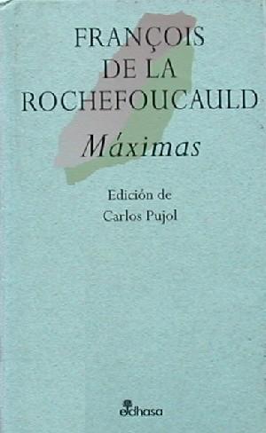 Máximas, de La Rochefoucauld