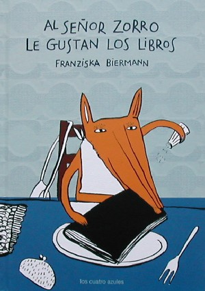 Al señor zorro le gustan los libros