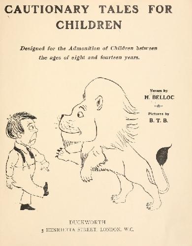 Poemas humorísticos de Hilaire Belloc