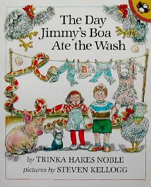 El día que la boa de Jimmy se comió la ropa