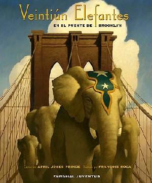 Veintiún elefantes en el puente de Brooklyn