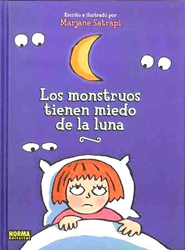 Ajdar y Los monstruos tienen miedo de la luna.
