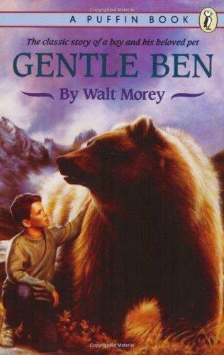 Ben: el oso dócil y Kavik, el perro lobo