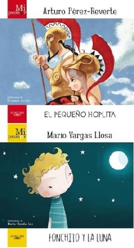 El pequeño hoplita y Fonchito y la luna