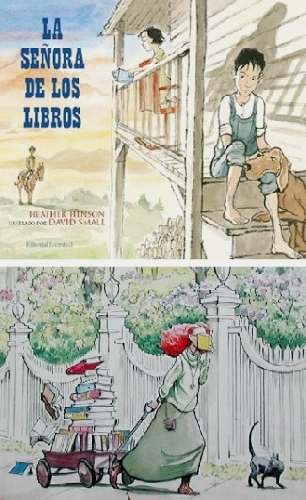 La señora de los libros y The Library
