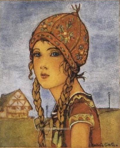 Bibi, una chica danesa de los años veinte