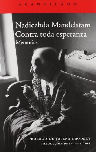 Contra toda esperanza: memorias