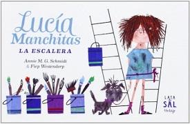 Lucía Manchitas. La escalera